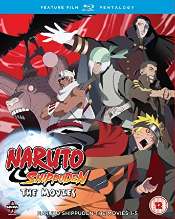 Amazon.com: Naruto - Shippuden Movie Pentalogy [Blu-ray ...