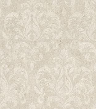 Rasch Vlies Tapete Grosse 0 53 X 10 05 M Farbe Silber Metallic