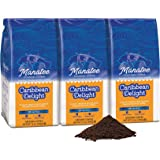 Manatee Caribbean Delight Ground Coffee 12 Ounce (Pack of 3) Rich Medium Roast Flavored Coffee with Hints of Coconut…