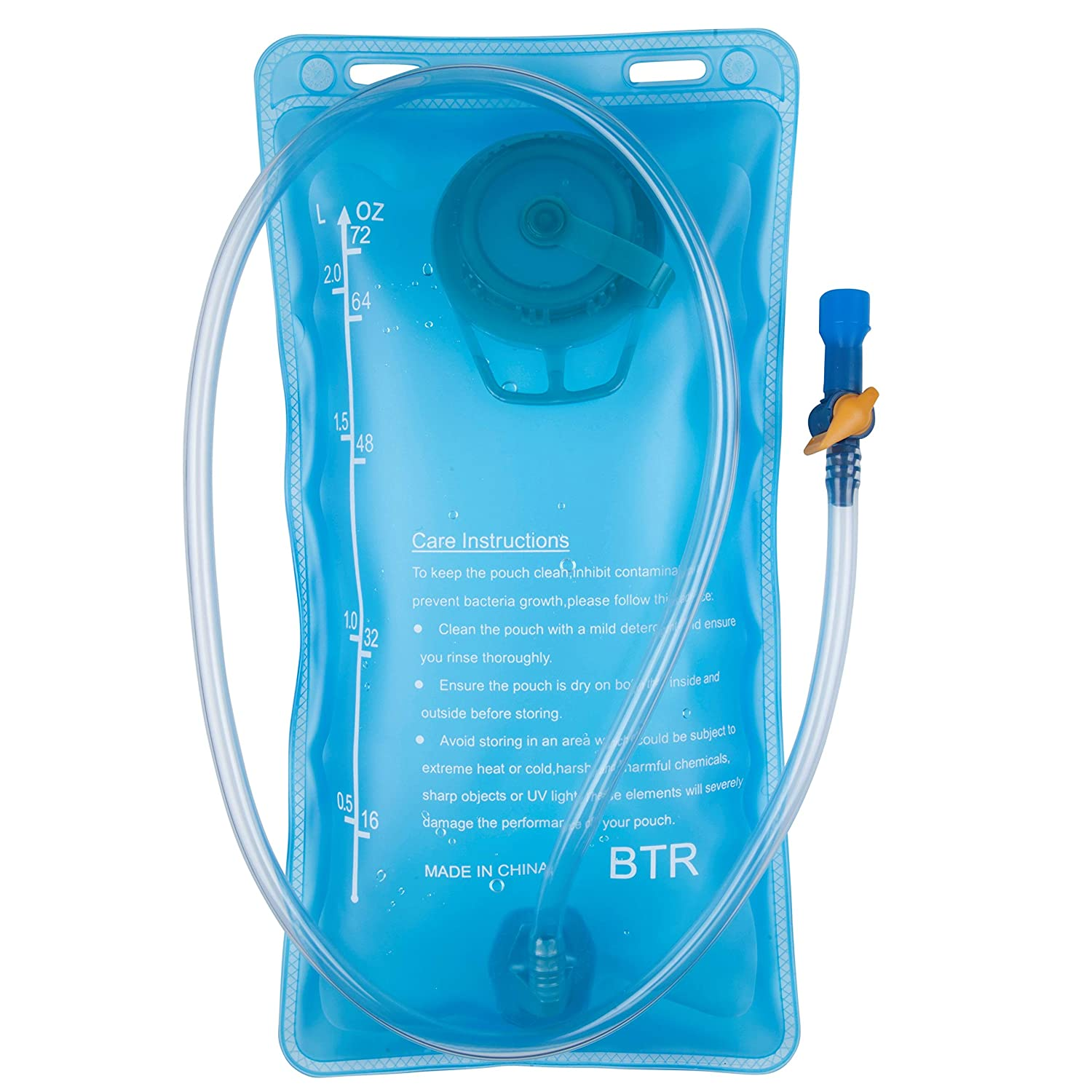 94772427f5 BTR Hydration Bladder Water Bag Compatible With Any Hydration Pack and  Backpack.  Amazon.co.uk  Sports   Outdoors