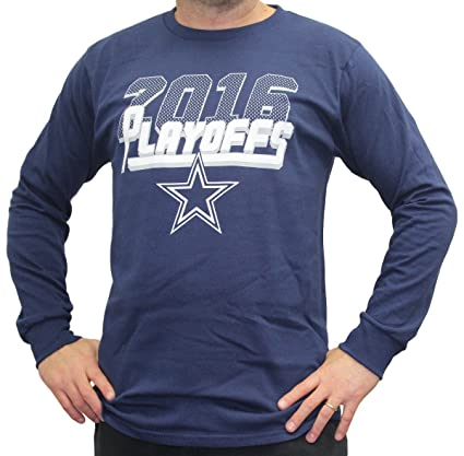 Image Unavailable. Image not available for. Color  Majestic Dallas Cowboys  2016 NFL Playoffs Men s Long Sleeve Navy T-Shirt 9f18dba62
