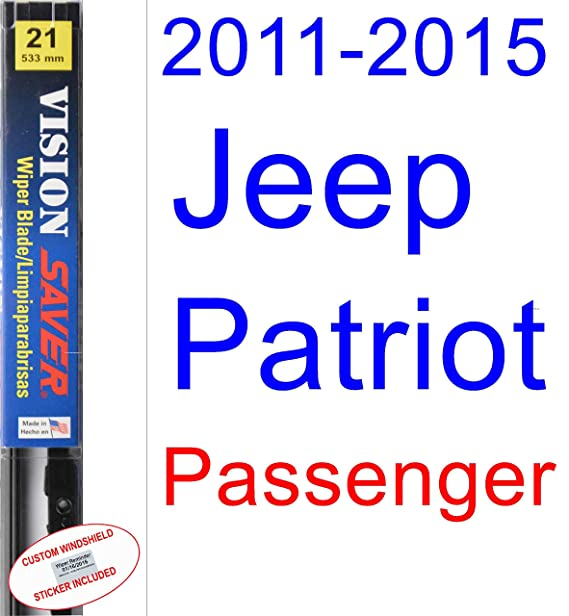 Amazon.com: 2011-2015 Jeep Patriot Wiper Blade (Driver) (Saver ...