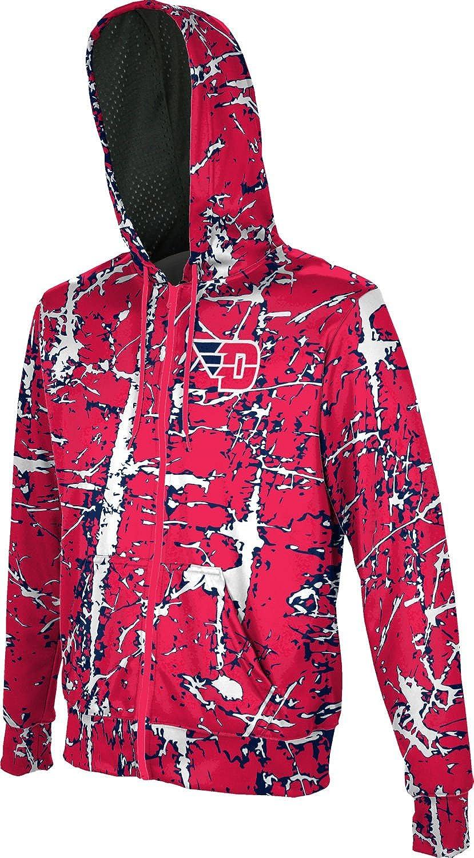 Distressed ProSphere University of Dayton Boys Full Zip Hoodie