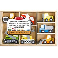 Melissa & Doug- 13180 Wooden Construction Site Vehicles