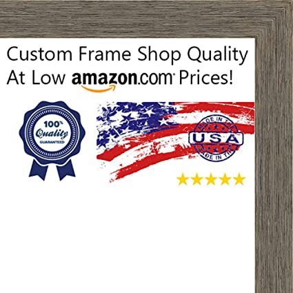 Amazon.com - Poster Palooza 26x38 Rustic Color Wood Picture Frame ...