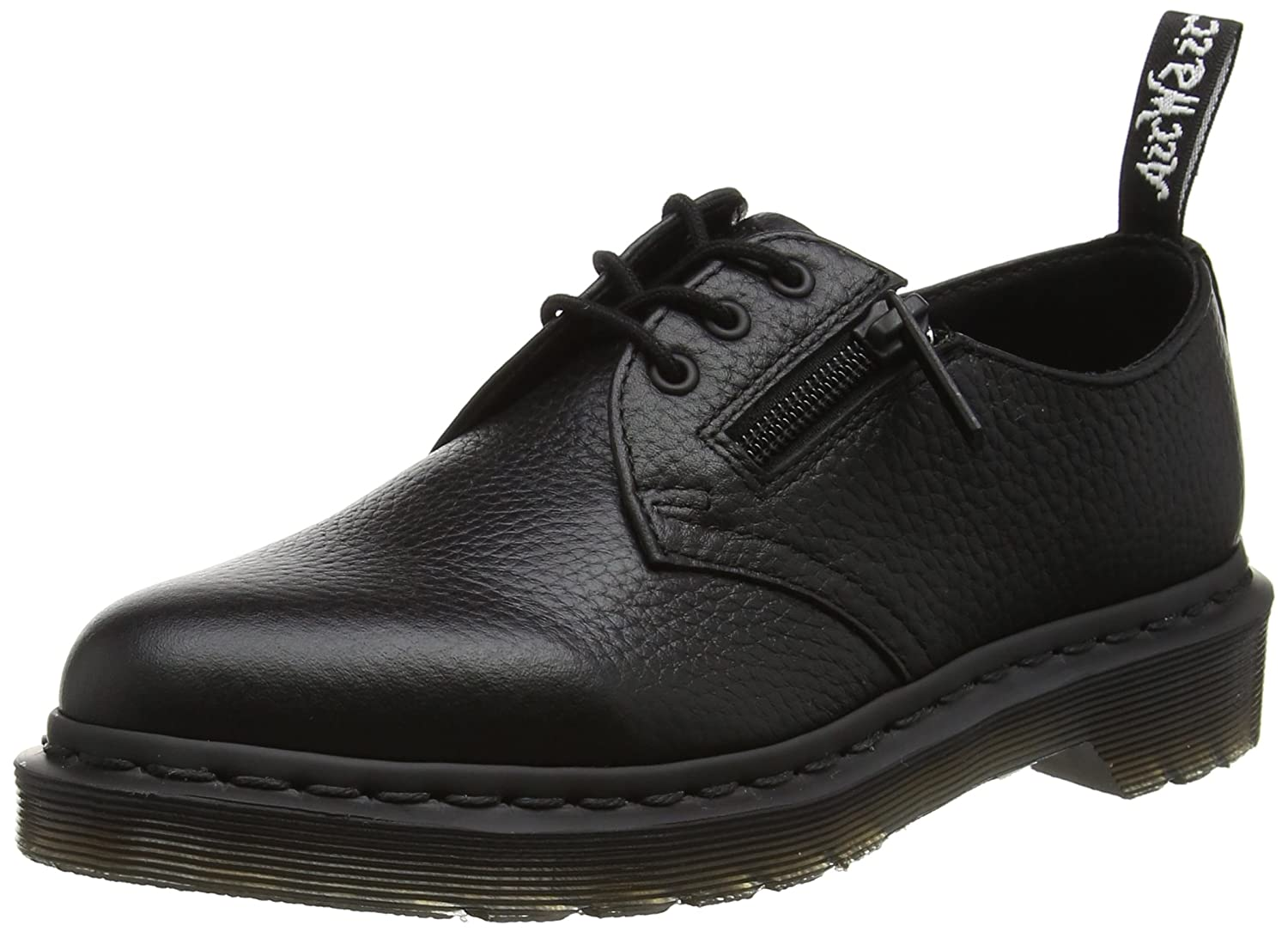 Dr. Martens Women's 1461 W/Zip Oxford B01IDSAPSW 6 UK/8 B US|Black