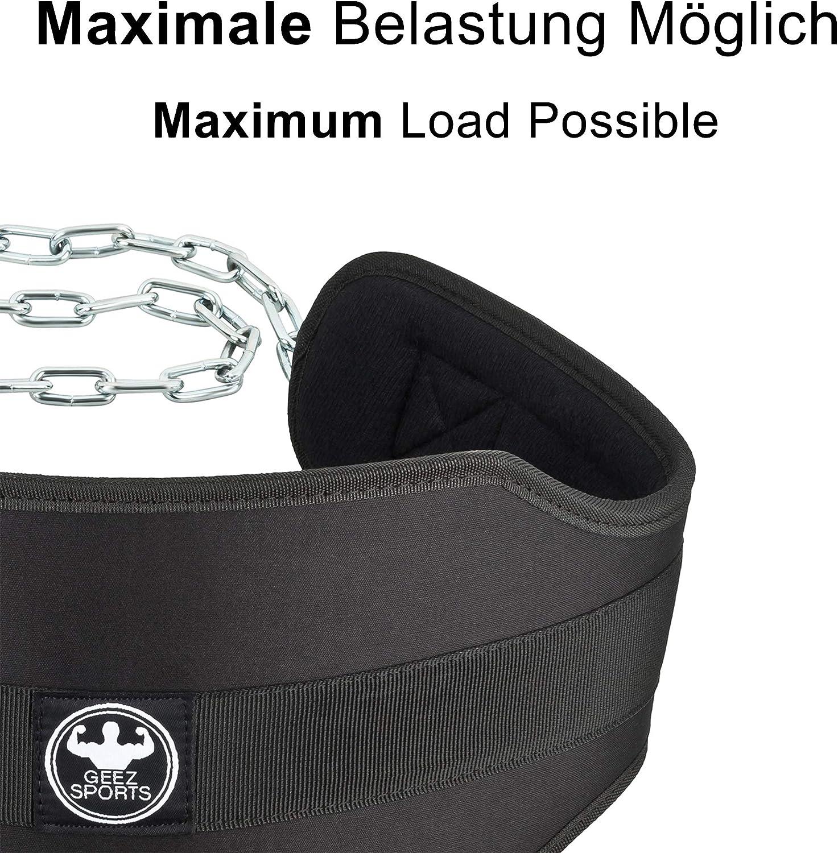 Geez Cinturón de inmersión con cadena de atletas para atletas I ...