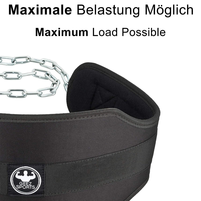 GEEZ Cinturon lastre dominadas lastrado Gimnasio Con peso Dominadas Dip belt musculacion Camouflage