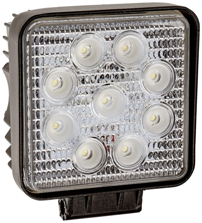 Tuff LED Lights 4' Inch Square 27watt LED Work Lamp Light 1550 Lumen, Off Road, Atv, Utv, Polaris Ranger