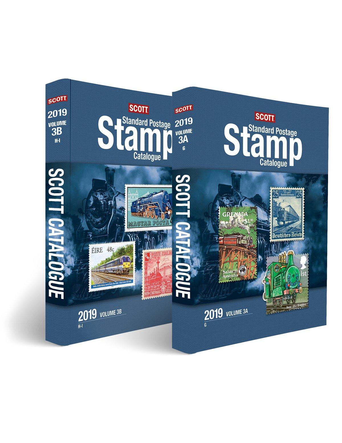 2019 Scott Standard Postage Stamp Catalogue Vol. 3 (Countries - G-I) (Scott Catalogues)
