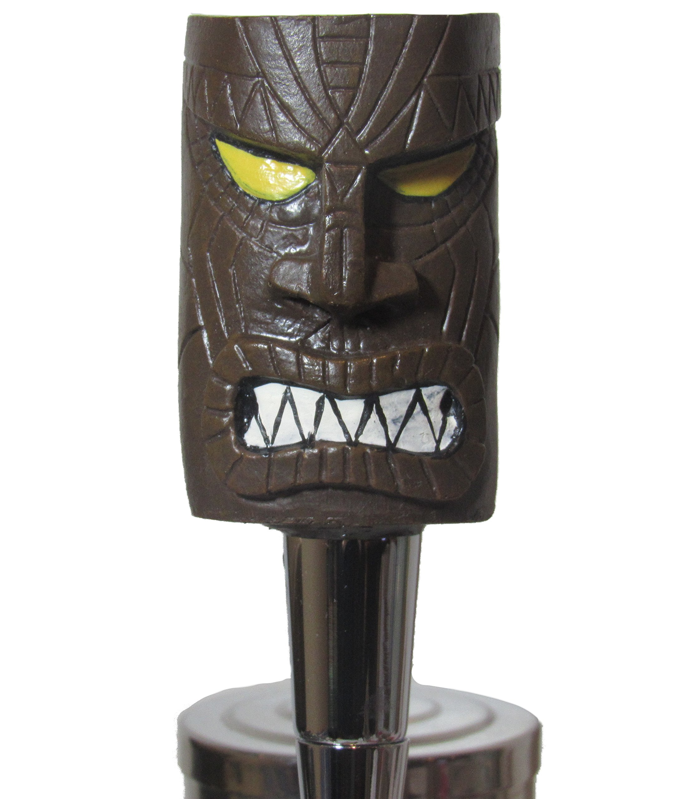 Custom Tiki Beer Tap Handle Sports Bar Kegerator Breweriana Totem