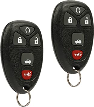 Car Key Fob For for Buick//Chevy//GMC//Pontiac//Saturn//Oldsmobile//Cadillac Escalade Series Remote ABO1502T;by AUTO KEY MAX SINGLE