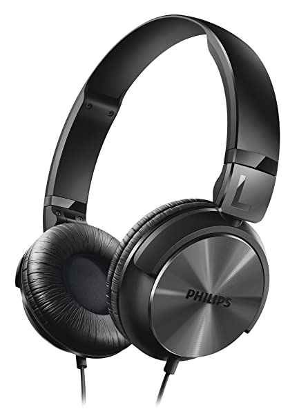 Philips SHL3160 - Auriculares (1500 mW, 1.2m), negro