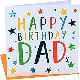 """Pom Pom """"Happy Birthday, Dad"""" Greeting Card"""