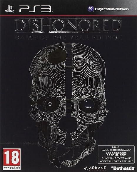 Bethesda Dishonored Game of the Year Edition, PS3 Game of the Year PlayStation 3 Inglés vídeo - Juego (PS3, PlayStation 3, Acción, M (Maduro)): Amazon.es: Videojuegos