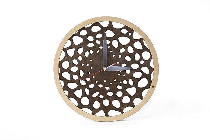 Hölzerne Wanduhren Moderne Holz Uhren Moderne Hölzerne