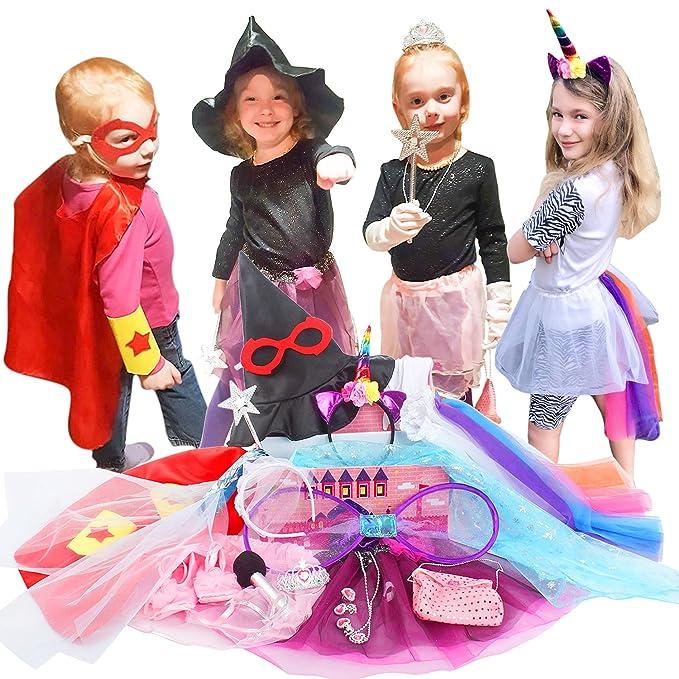657f133052 Amazon.com  Toiijoy Girls Dress up Trunk
