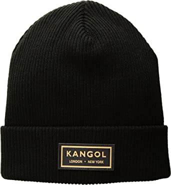 Kangol Men's Gold Beanie Black One Size