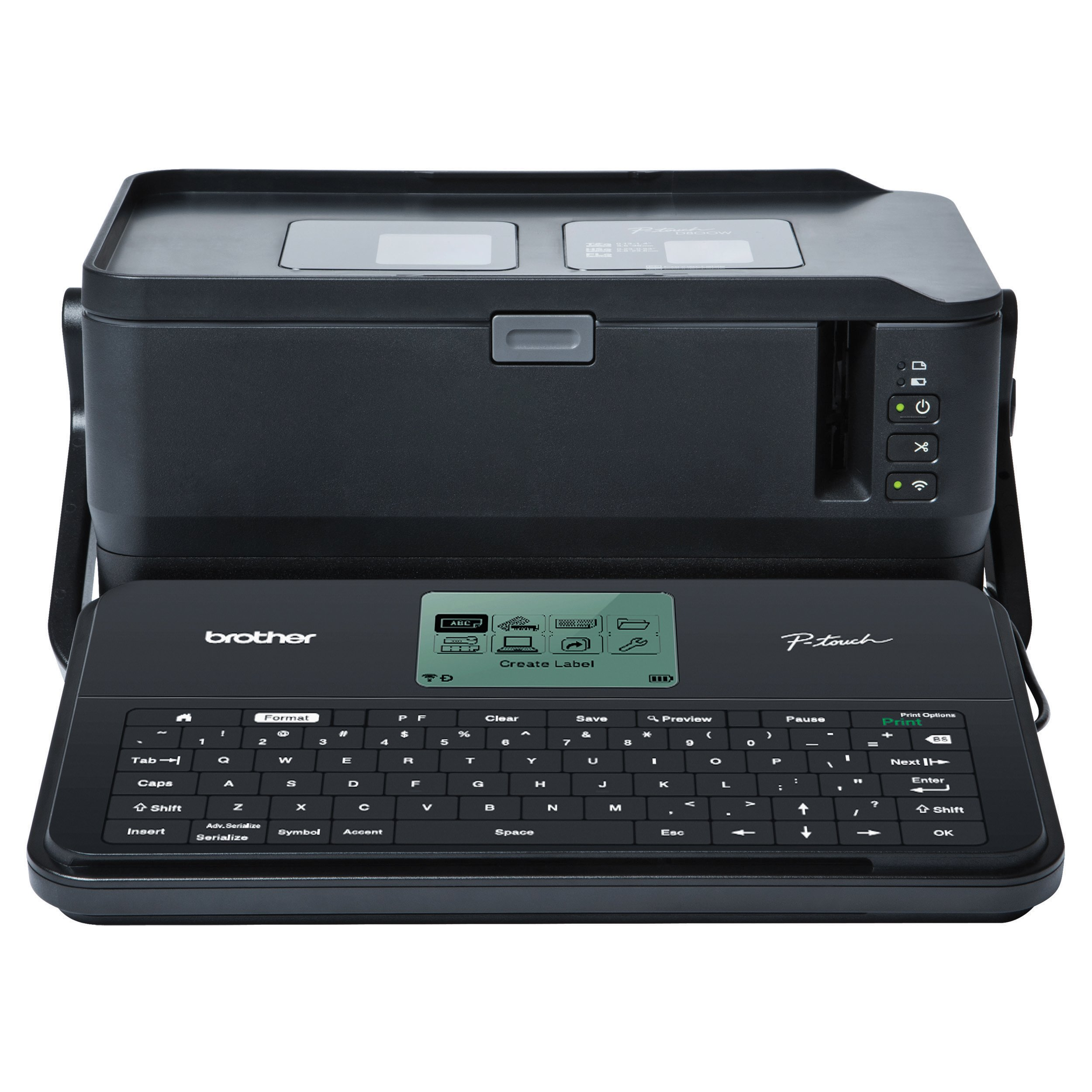 Brother Printer Portable, Industrial Electronic Label Maker (PTD800W)