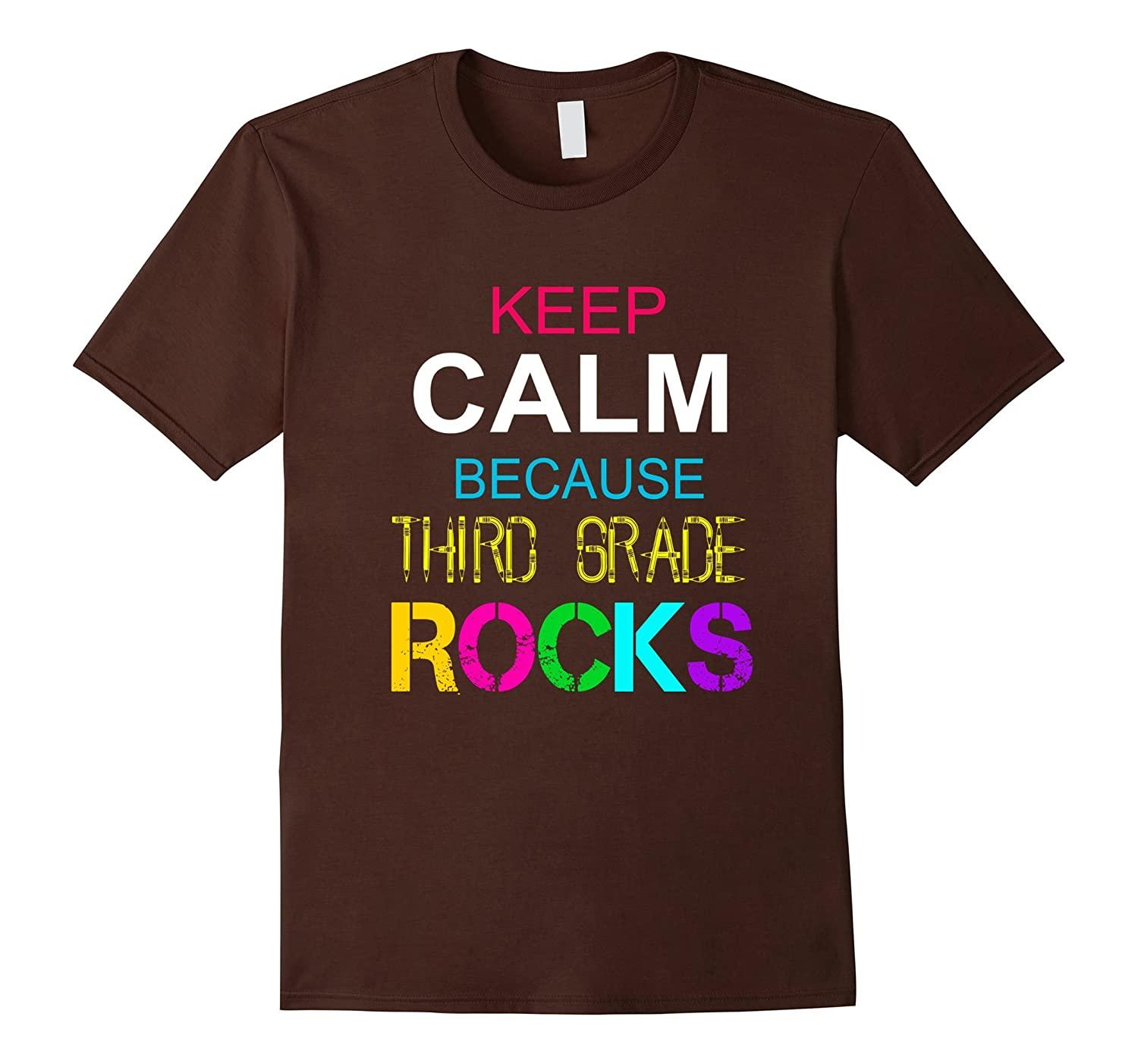 Funny Third Grade Rocks T Shirt Back To School Teacher