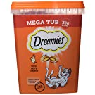 Dreamies Cat Treats with Chicken Mega Tub, 350 g (Pack of 2)