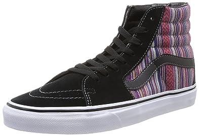 Sk8-Hi Ankle-High Canvas Skateboarding Shoe