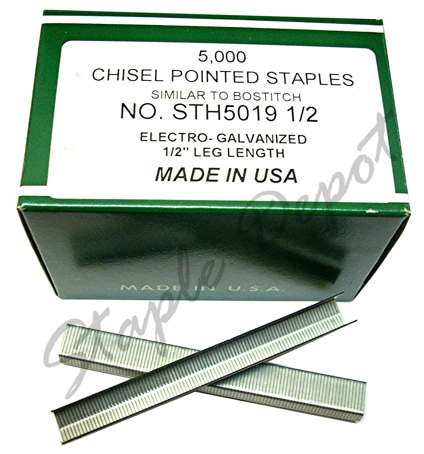 STH5019-1/2C 1/2'' staples for Bostitch