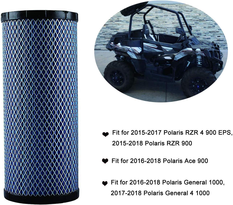 K/&N Air Filter Polaris Ranger 900 Crew,Ranger 900 Crew EPS,Ranger 900 Crew EPS L