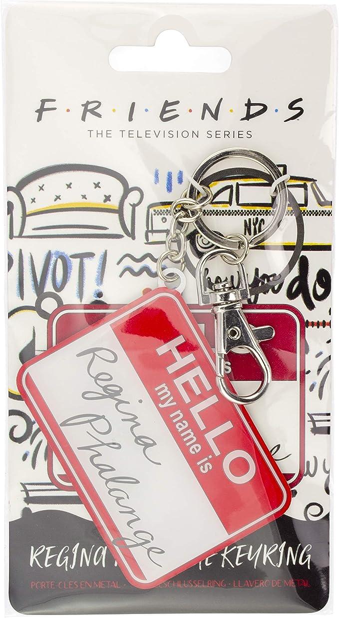 Friends Regina Phalange Key Ring - Officially Licensed Friends TV Show Merchandise