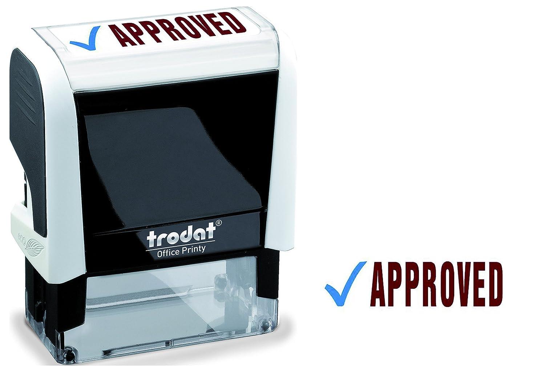 OfficeCentre Approved - Sello de oficina, blanco y negro 77304