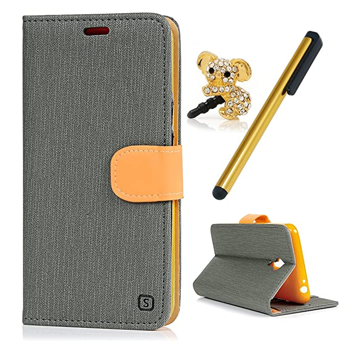1 opinioni per Meizu M2 Note Custodia Pelle Folio Wallet- MAXFE.CO Morbida Libro PU Leather