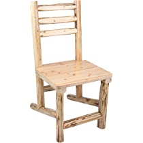 Attirant ... Rush Creek Creations Slant Back Dining Chair