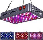 VIPARSPECTRA Latest 600W LED Grow Light, with Daisy Chain, Veg and