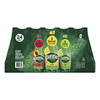 Deals on 24-Pack Perrier Carbonated Mineral Water, Assorted Flavors 16.9Oz