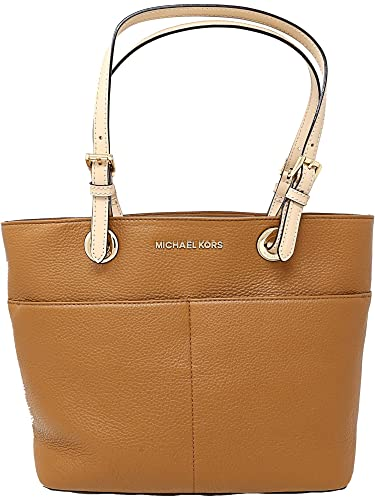 12f8ca19a44a Amazon.com: Michael Kors Women's Bedford Leather Top-Handle Bag Tote ...