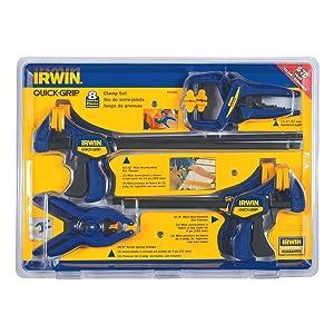 IRWIN QUICK-GRIP Clamps Set, 8-Piece (4935502)