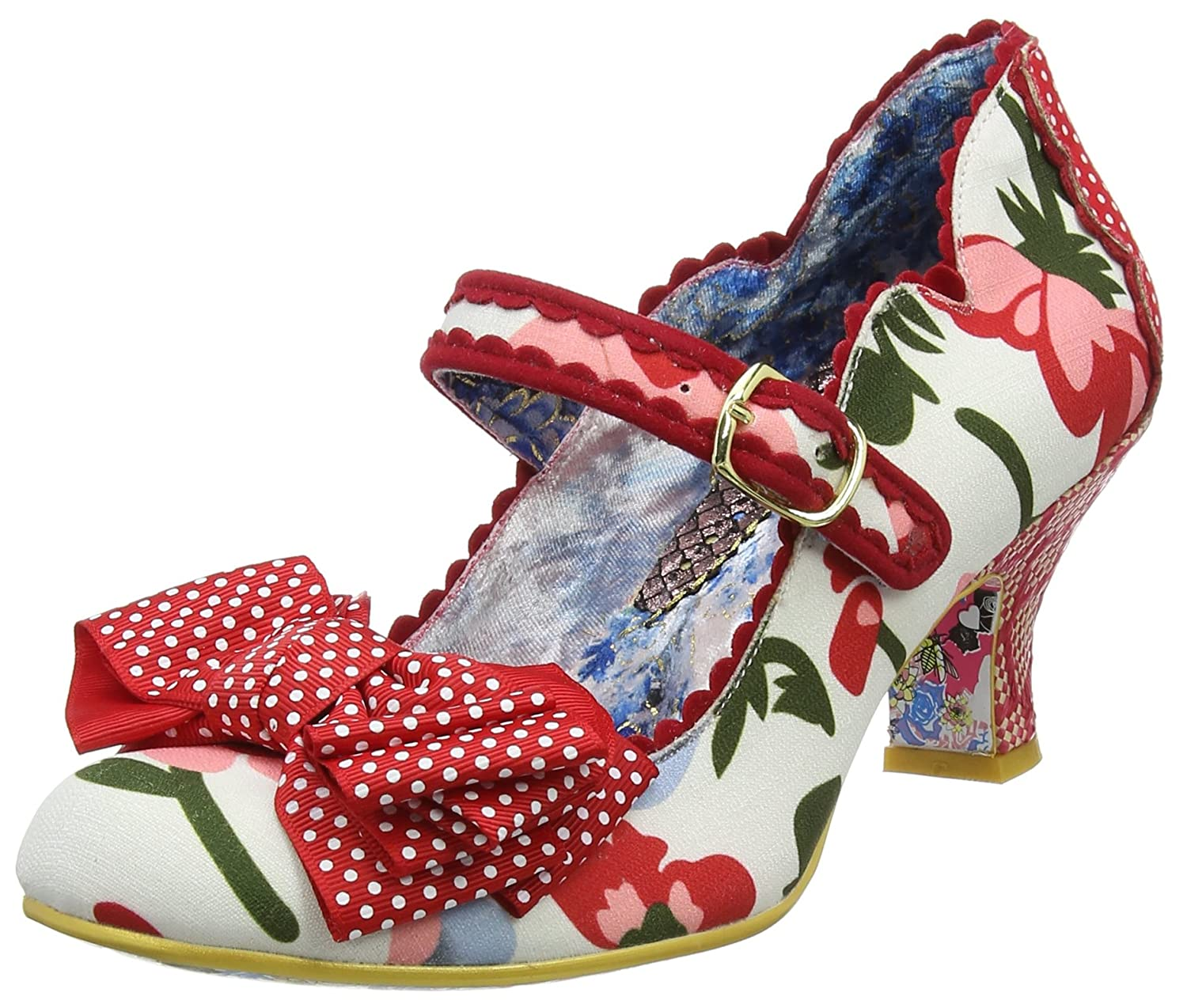 Irregular Choice (White/Red Balmy Nights, Mary Janes Femme, Bleu Janes Blanc Mary (White/Red C) 3afff80 - automatisms.space