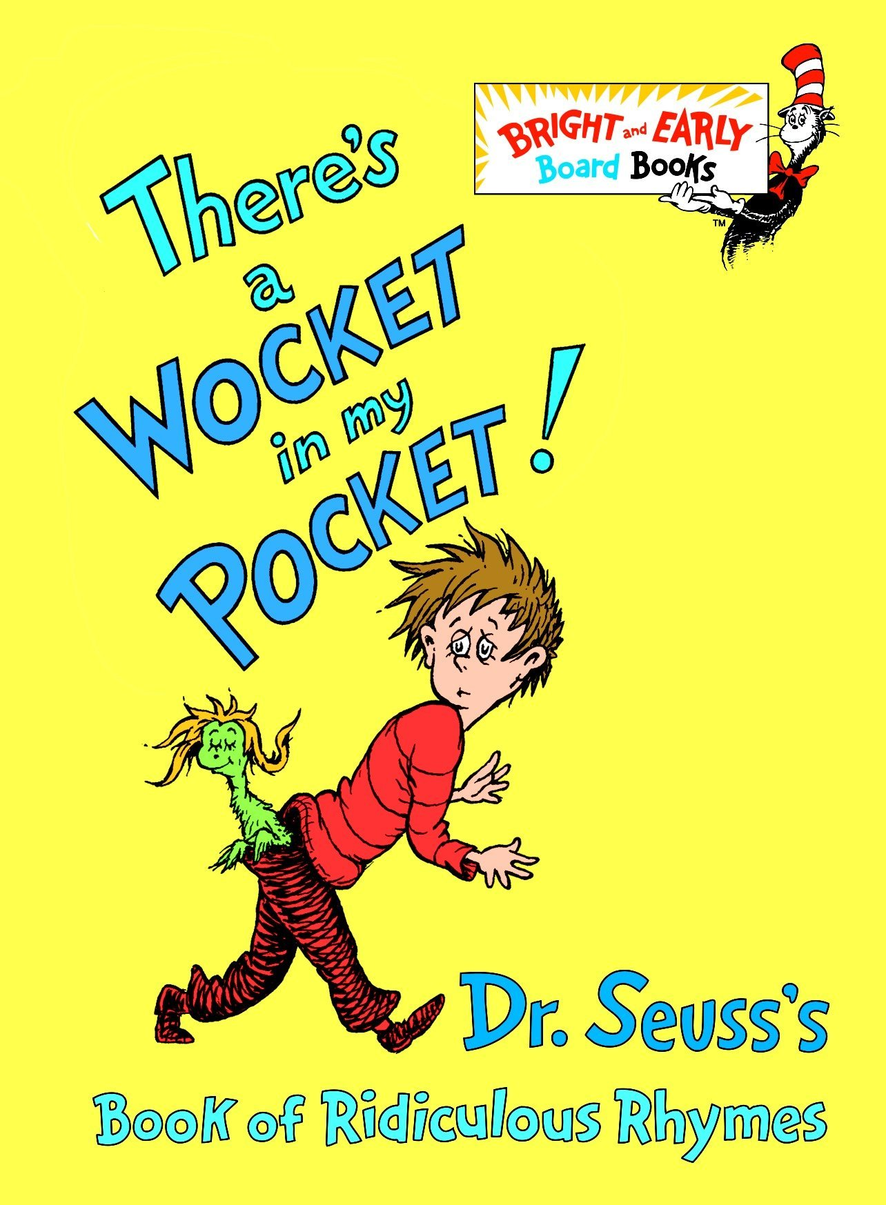 Amazon.com: There's a Wocket in My Pocket! (Dr. Seuss's Book of Ridiculous  Rhymes) (9780679882831): Dr. Seuss: Books