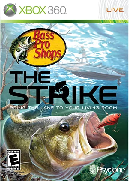Bass Pro Shops The Strike Bundle With Fishing Rod Xbox 360