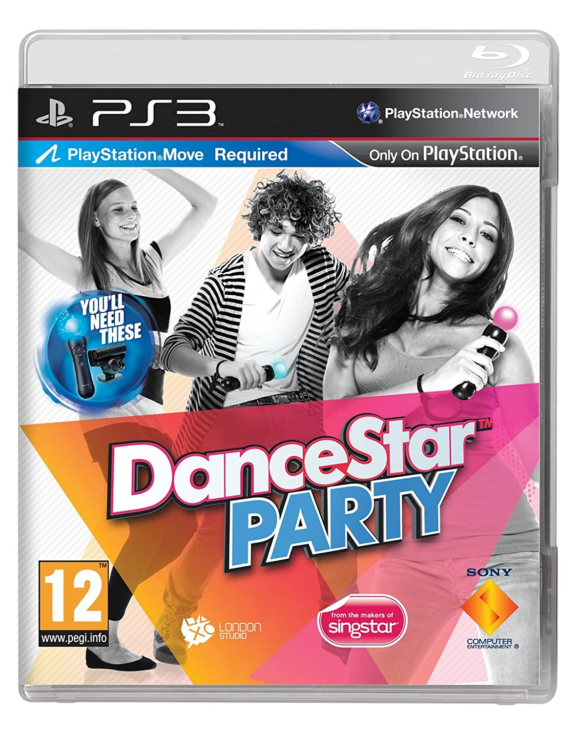 Amazon Com Dancestar Party Move Required Ps3 Region Free Uk Release Video Games