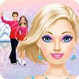 Figure Skater Salon: Spa, Makeup and Dress Up Ice Skating Girls Makeover - Kids Games