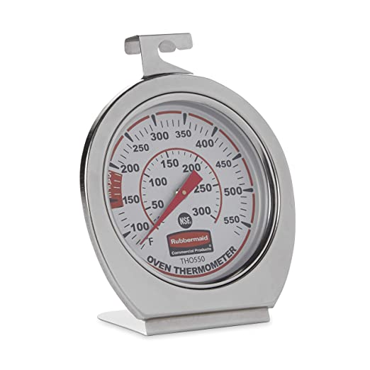 Rubbermaid Commercial Steel Instant Read Monitoring Thermometer – Best Indoor Thermometer