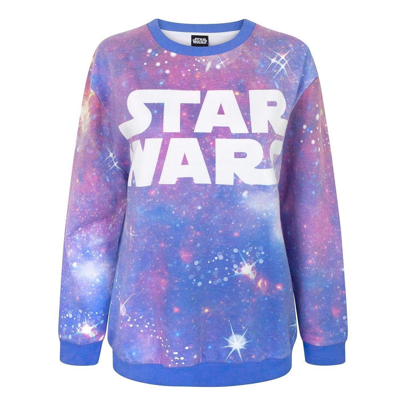 Star Wars Cosmic Women's Sublimation Sweatshirt Fashion UK