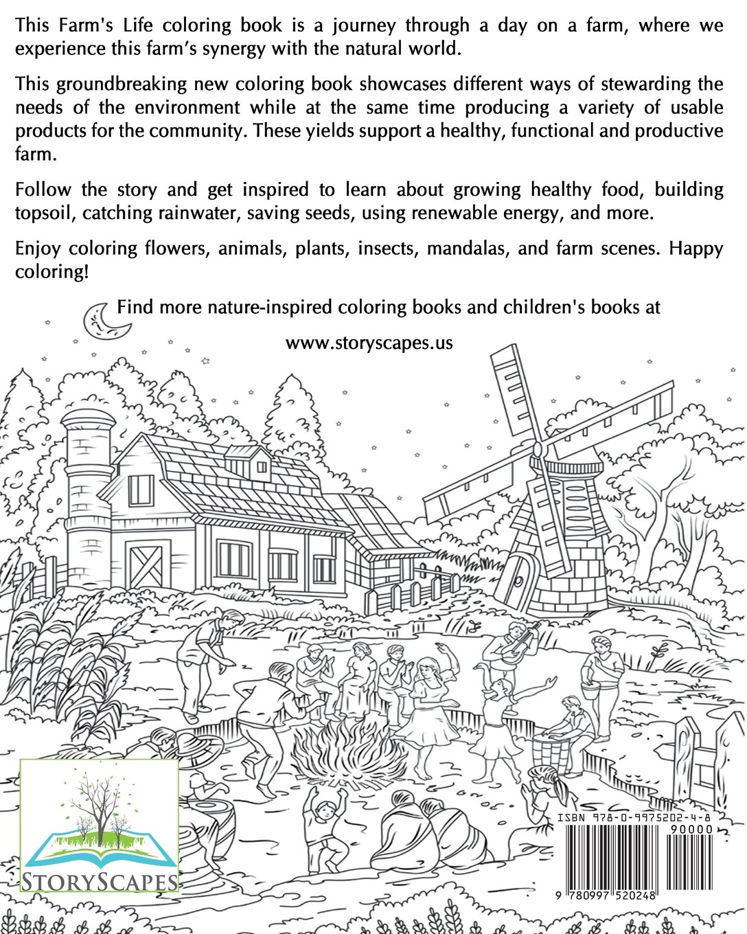 amazon com this farm u0027s life coloring book farming with