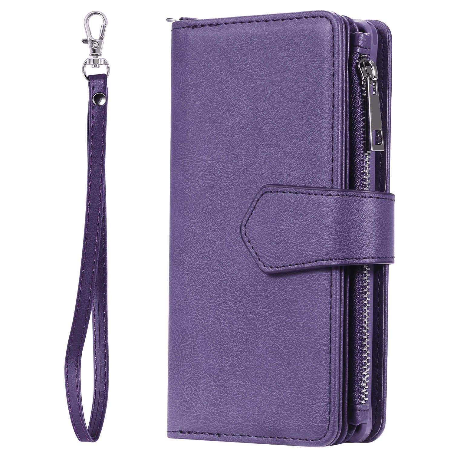 with Waterproof Case for Cellphone Leather Case Compatible with Samsung Galaxy S9 Flip Cover for Samsung Galaxy S9