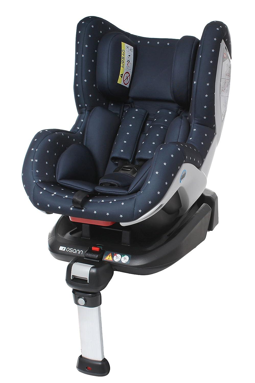 Osann 101-108-400 Reboard Kindersitz Fox Isofix- Gruppe 0+/1, 0-18 kg, 0 bis circa 4 Jahre, bellybutton, blau Osann GmbH