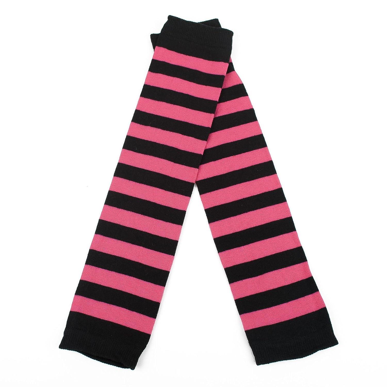 Damen Armwärmer Mit Dicken Streifen Hat To Socks