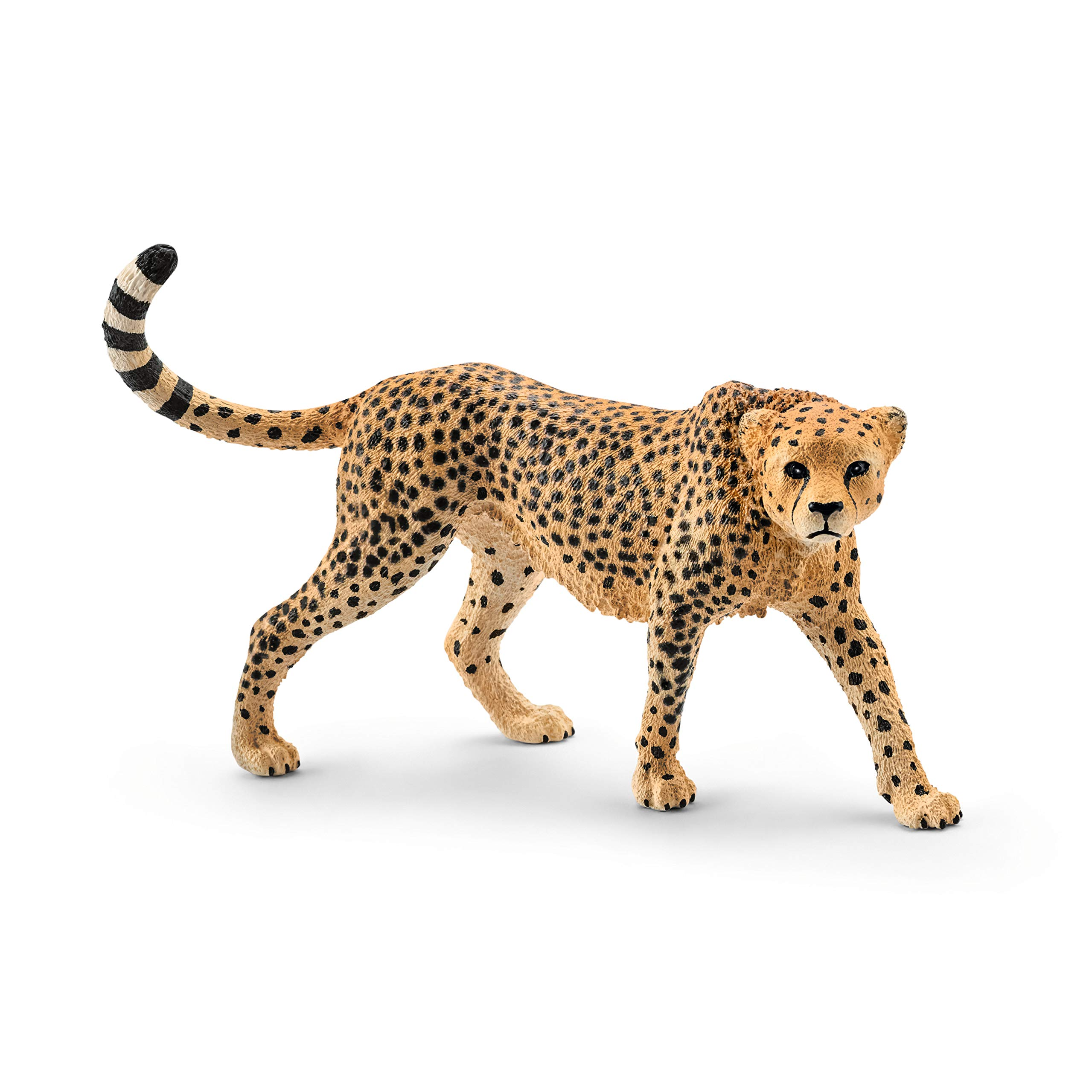 Schleich Wild Life, Animal Figurine, Animal Toys for Boys and Girls 3-8 years old, Female Cheetah