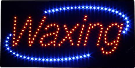 Amazon.com: LED luz de encerado abierto signo Super ...