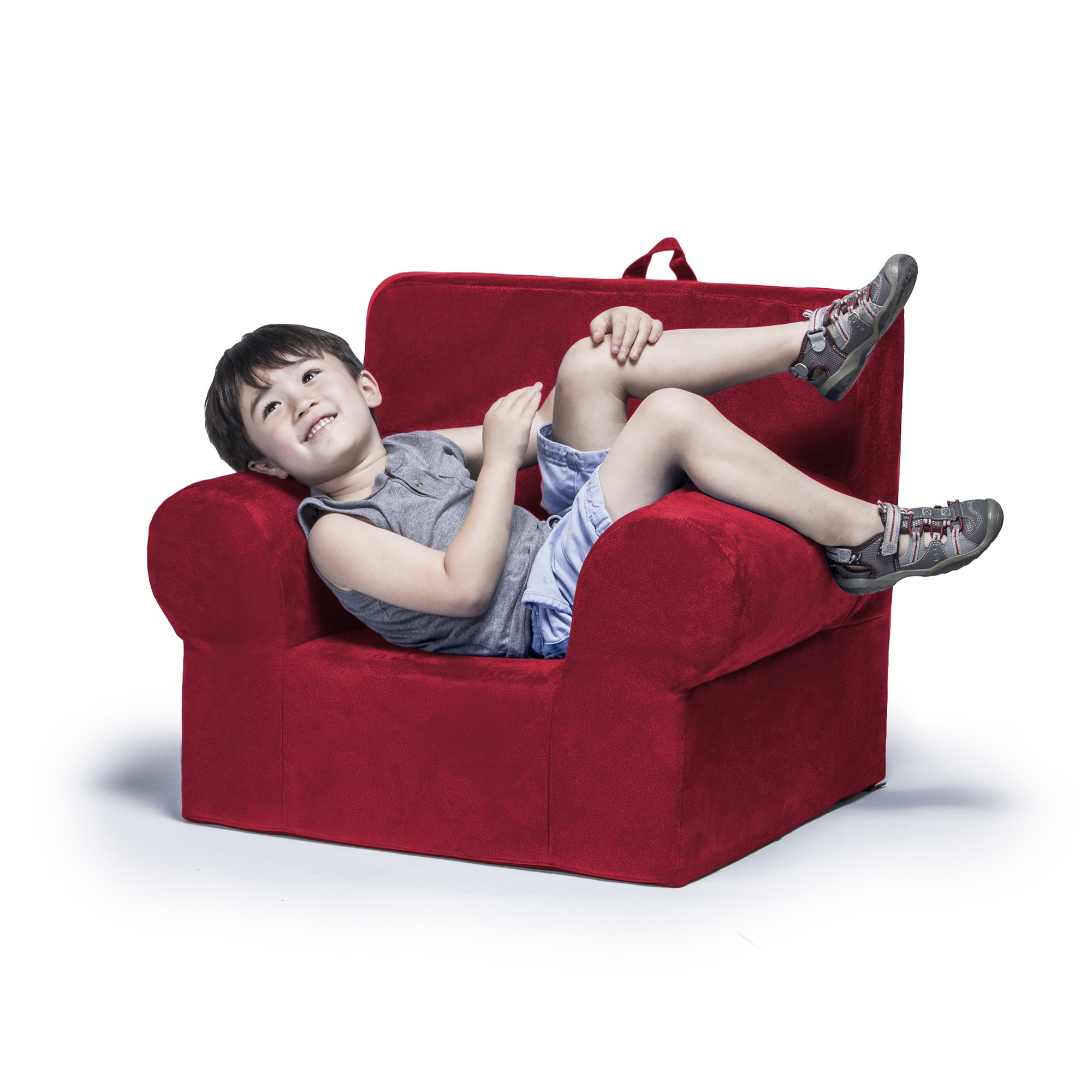 Jaxx Julep Kids Armchair, Cherry
